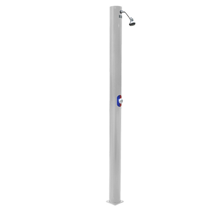 outdoor solar shower u2013 bu1020c u2013 grey