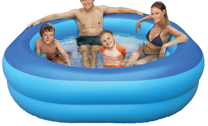 Inflatable pool family
