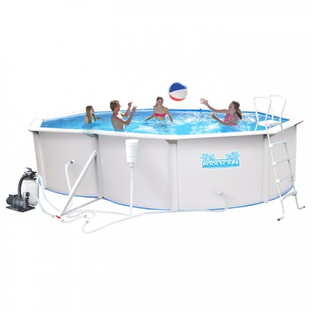 BU1612SWO Metal Wall Pool